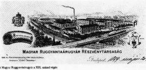 Schottola Ernő által alapított gyár a XIX. század végén (www.geocaching.com)
