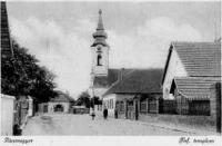 A pócsmegyeri református templom 1925 (www.pocsmegyer.hu)