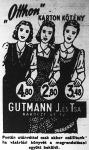Textiláru kiskereskedelmi hirdetése