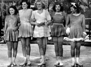 Saáry Éva, Kresz Lili, Botond Györgyi, Kékessy Andrea, Saáry Marika