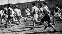 A versenyzők útban a cél felé