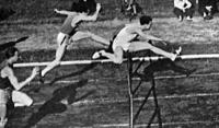 Hidas Ödön nyerte a 110 m-es gátfutás válogató versenyét.jpg