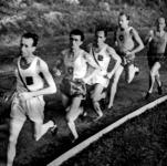 A 10000 méter mezőnye - Szilágyi, Németh, Kelen, Szabó, Esztergomi.jpg