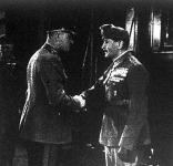 Szombathelyi Ferenc vezérkari főnök üdvözli Jányt