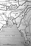 A Burma határától kiinduló japán támadás India határvidékét fenyegeti
