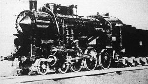 Varga Sándor dr. tb. szolgabíró által készített 328-as sorozatú MÁV gyorsvonati mozdony 1:10 méterarányú mintája, amely a M. kir. Közlekedési Múzeum számára készült.