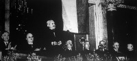 Kállay Miklós miniszterelnök beszéde a Nemzetvédelmi Szövetség zászlóavatásán