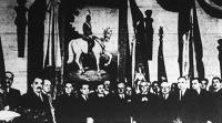 A Rákospalotai Ipartestület széházában a Kormányzóról készült festményt, Gyökössy Sándor festőművész alkotását bensőséges ünnepség keretében leplezték le.
