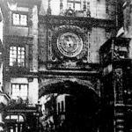 Ez a nyilvános óra még a 14. században készült és azóta is használatban van Roueban.