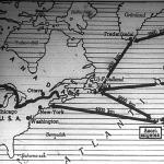 Az Azori-szigetcsoport az Európa-Amerika közötti hajózási útvonal feleútján fekszik.