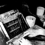 A napi adag. A szigorú gyárirend a fürge kezektől a virzsíniáknak bizonyos mennyiségét követeli.