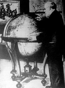 A földteke megalkotása: Silvestro Amont rajzolta ezt a térképet 1677-ben pergamenre tollal.