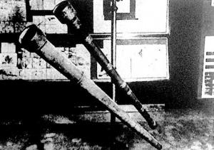 Galileo Galilleinek, a modern világkép egyik megalkotójának, kezdetleges távcsövei