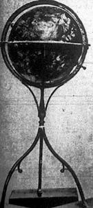 Kereken félezer esztendővel ezelőtt, 1442-ben készült el a képünkön látható földgömb, készítője Martin Behalm földrajztudós