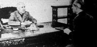 A magyar követ bemutatkozó látogatáson Mussolininél