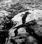A  Vezuv legutóbbi kitörésének megmerevedett lávatömege