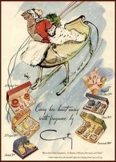 Ajándékcsomag reklám 1944