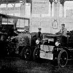 Daimler-féle automobilok az automobil-kiállításon