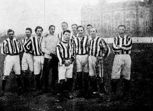 A Magyar Úszó-Egyesület football csapata