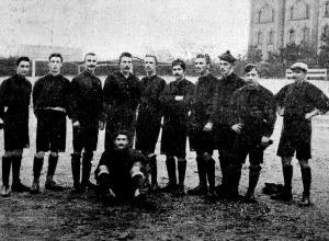 A Műegyetemi Football Klub csapata