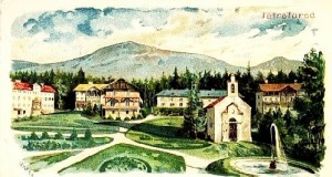 Tátrafüredi képeslap