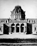 A fürdő bejárata az 1890-es években
