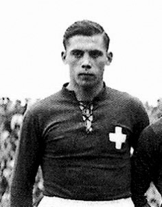 Bickel, uno de los dos jugadores que participaron en mundiales antes y después de la Segunda Guerra Mundial