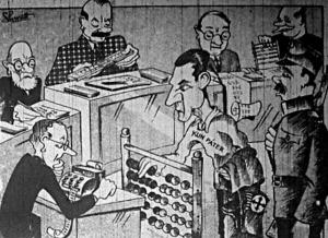 Számológépeken, fejszámoló és számológépesített osztagok bevonásával állítják össze Kún páter gyikosságait