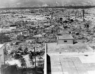 Hiroshima a bomba ledobása után
