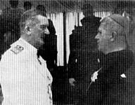 Zadravecz püspök Horthy Miklóssal