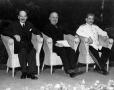 Attlee, Truman és Sztálin a potsdami konferencián