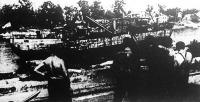 A Ganz hajógyárban vízre bocsátották a súlyos sérüléseiből kijavított Tisza tengerjáró hajót