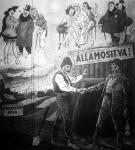 Államosítva - a Ludas Matyi 1945. december 16-i számának címoldala