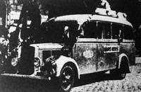 Autóbuszjárat Budapestről Kecskemétre 1945 augusztusában indult.