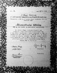 Az ún. búzakötvény, amelyet azok a gazdák kapnak, akik jóvátételi célokra terményeket vagy állatokat szolgáltattak be. A kincstár legkésőbb 1948 december végéig visszaváltja őket.