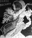 Danse macabre (A rajz szövege: Táncolj csak Fláci, nemsokára vége a bálnak...) És vége is lett!