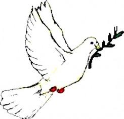 A béke galambja hozzánk többször nem kedvező olajágat hozott
