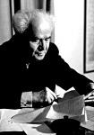 Ben Gurion, aki a Zsidó Ügynökség vezetője volt 1935-től 48-ig