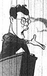 Révai József, a Szabad Nép akkori főszerkesztője