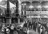 Az első Nobel-díj átadás