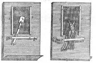 Leeuwenhoek mikroszkopáló állványa