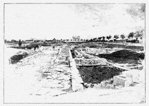 Az aquincumi ásatások