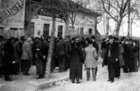 Pillanatfelvételek az áprilisi vasuti sztrájkról (Kiss Ferenc fényképei)