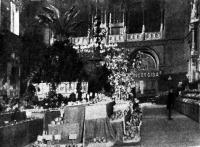 A budapesti M. Kir. Kertészeti Tanintézet kiállítása és cserepes gyümölcsfák