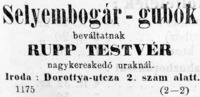 A selyembogár tenyésztésének üzleti lehetőségét mi sem bizonyítja jobban, mint ez a felvásárló által közzétett hirdetés.