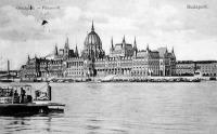 Parlament  az építés befejezését (1904) követően
