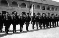 Császári és kir.gyalogezred katonái