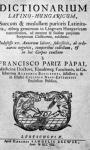 latin- magyar szótár