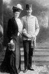 Ferenc Ferdinánd és felesége Chotek Zsófia