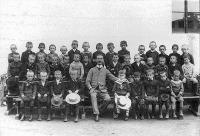 Tanyasi iskolai osztály, 1900